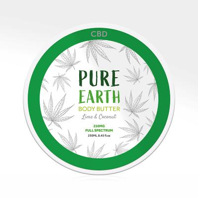 Beurre corporel au CBD - Pure Earth 250ml