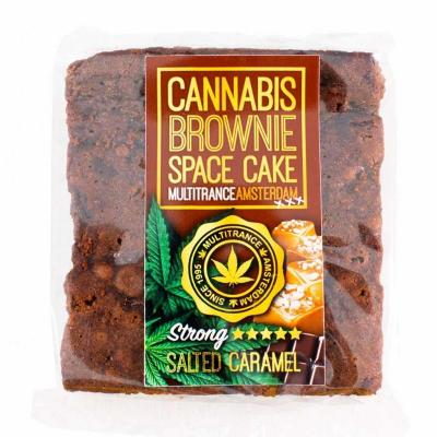 Brownie goût Caramel salé