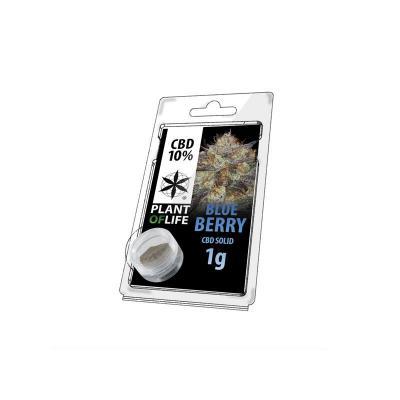 Résine Blueberry 10% de CBD 1g