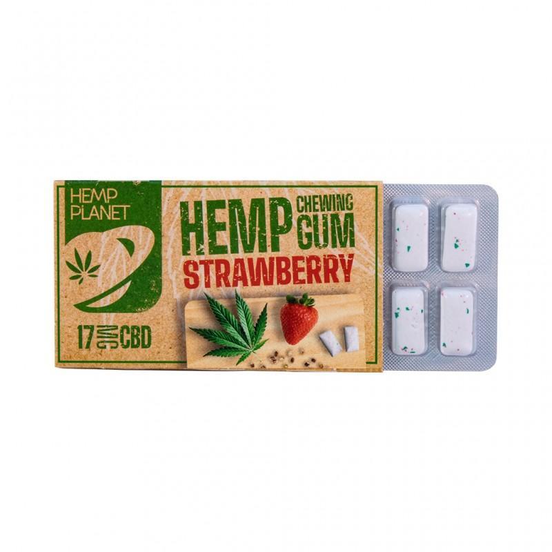 Chewing gum fraise au cbd 2 1