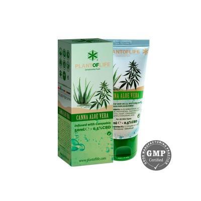 Crème à l'Aloe Vera CBD 0.5% 50ml