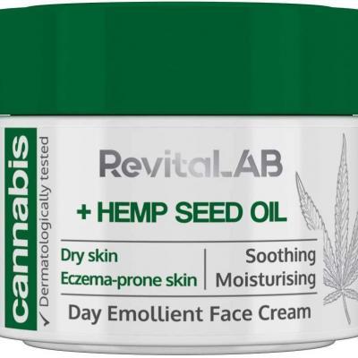 RevitaLAB - Crème de jour pour le visage à effet émollient, hydratant et nourrissant 50ml