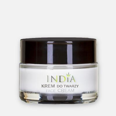 Crème Visage jour et nuit India