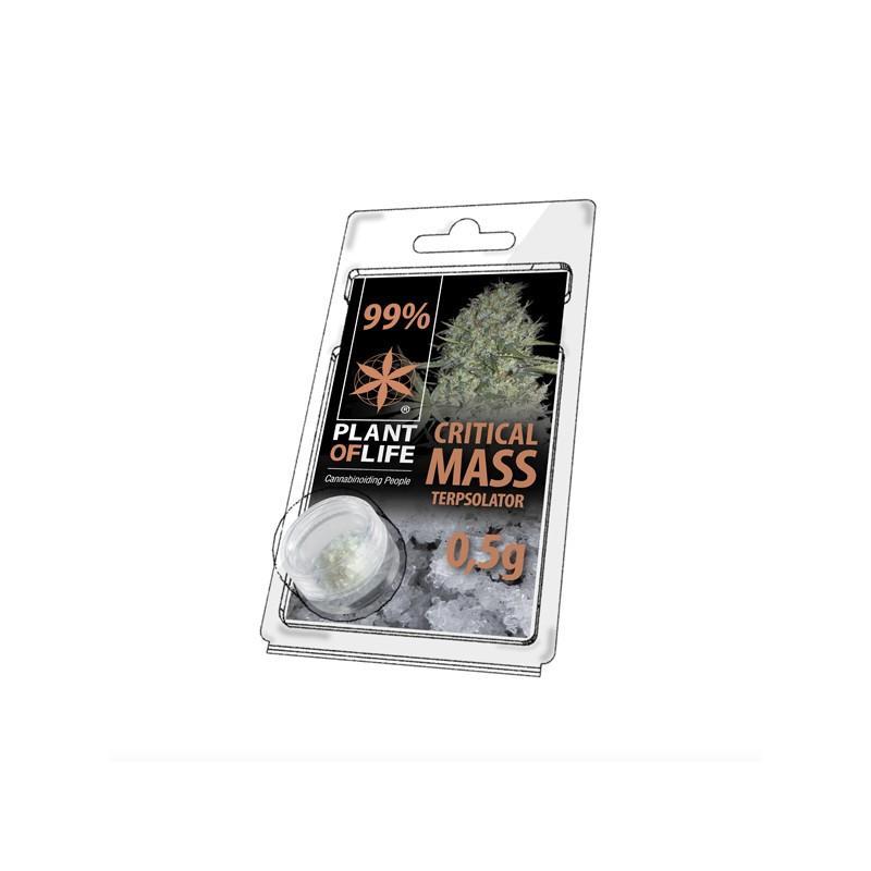 Cristaux de cbd aromatises critical mass 99 pur 500mg