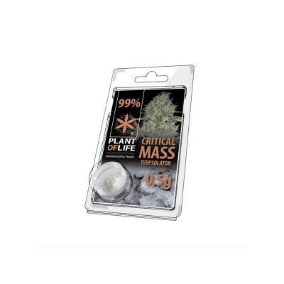 Cristaux de CBD aromatisés Critical Mass 99% pur 500mg