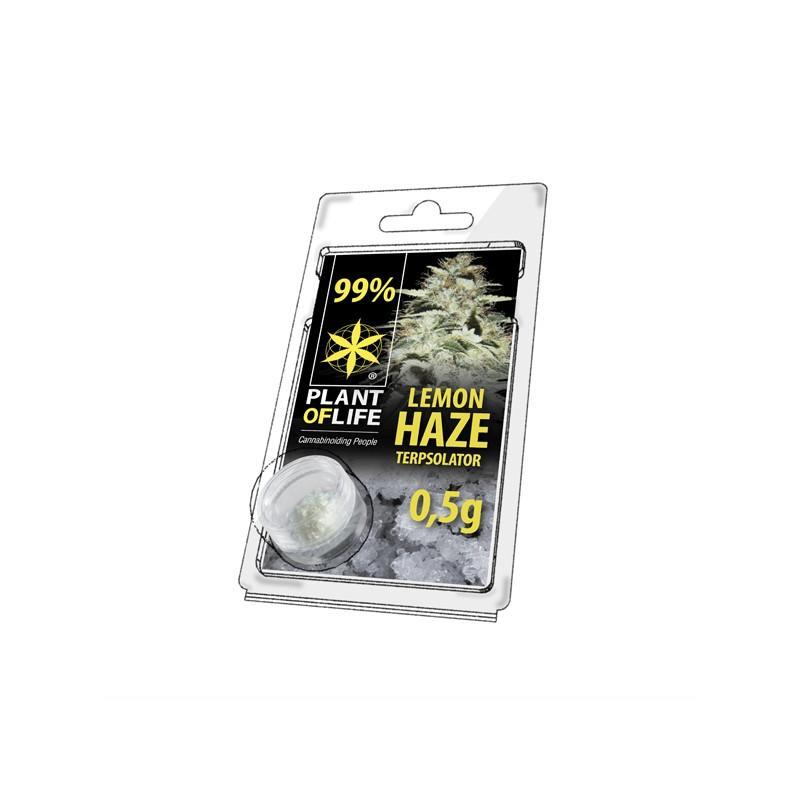 Cristaux de cbd aromatises lemon haze 99 pur 500mg