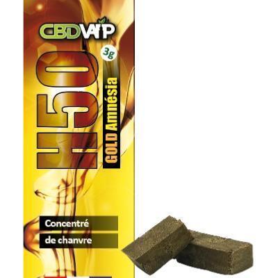 Résine CBD H50 Amnésia - 50% - 3g - Spectre complet