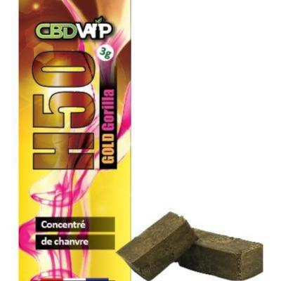 Résine CBD H50 Gorilla -  50% - Spectre complet - 3g
