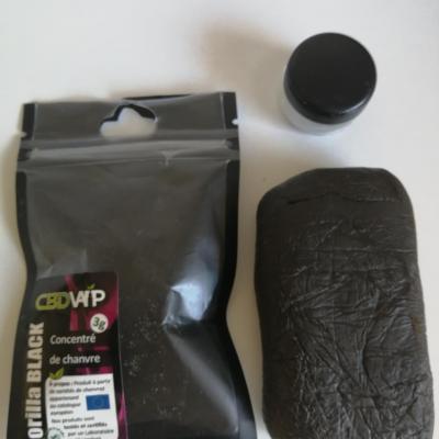 Résine CBD Gorilla Black 20% - 3g - Spectre complet