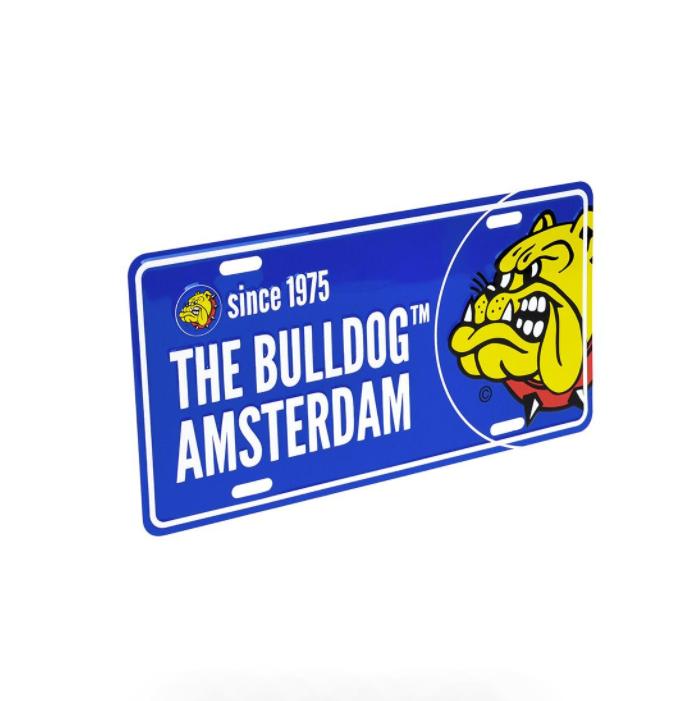 Plaque bulldog