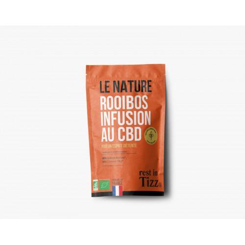 Rooibos bio infusion au cbd le nature