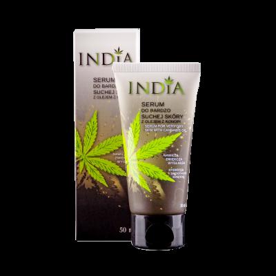 Sérum pour peau très sèches, visage et mains India 50ml